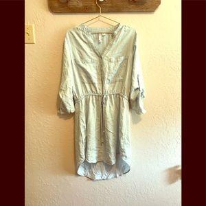 Soft chambray dress